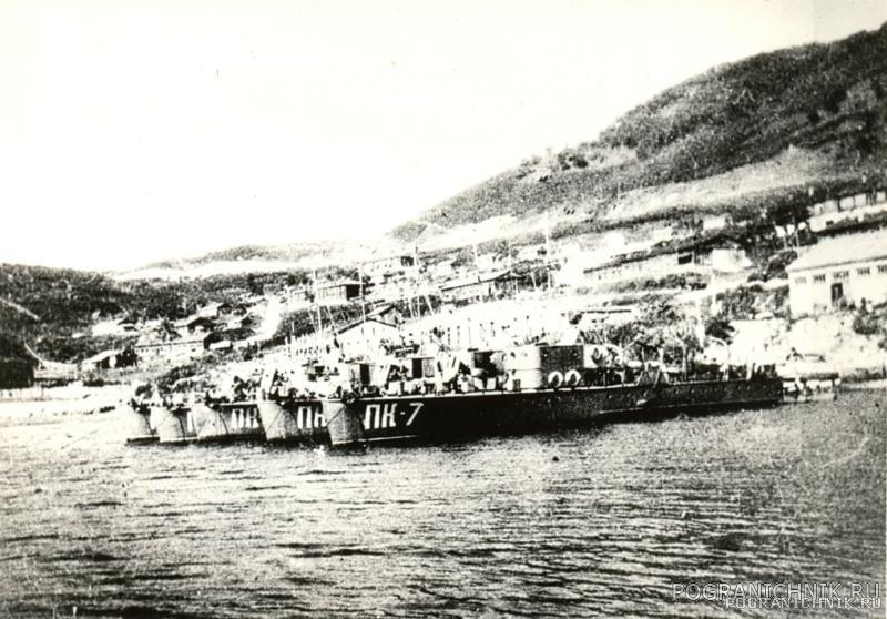 Катера ПК  б. Солено Озеро 40-е года