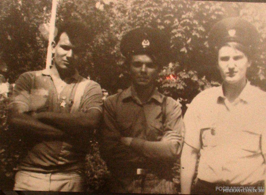 28 мая 1991 г. Я, Юра Палиев (6ПЗ 6 ПО), Олег Рябов (коменда