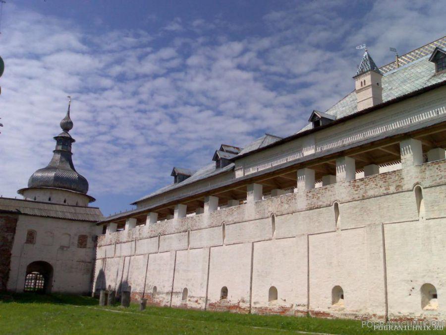 Ростовский кремль.Южная стена.