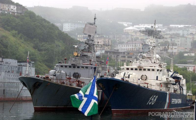 Фото пограничников с корабля пскр дзержинский специализируется добыче