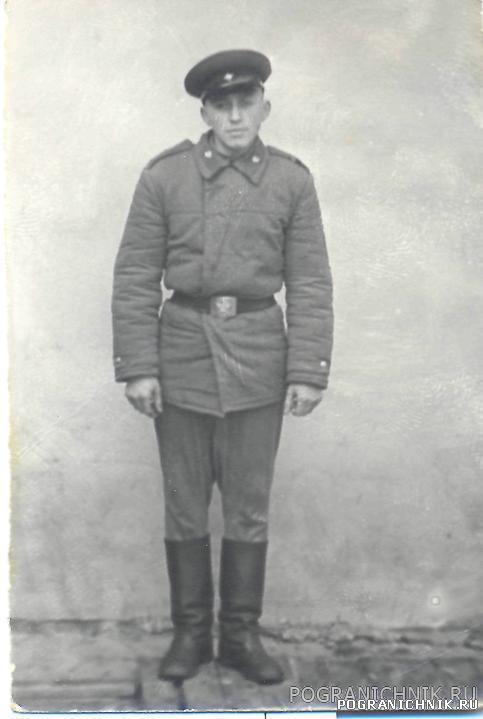 25 Пограничная застава,п.Папе,Федотов,1967год.