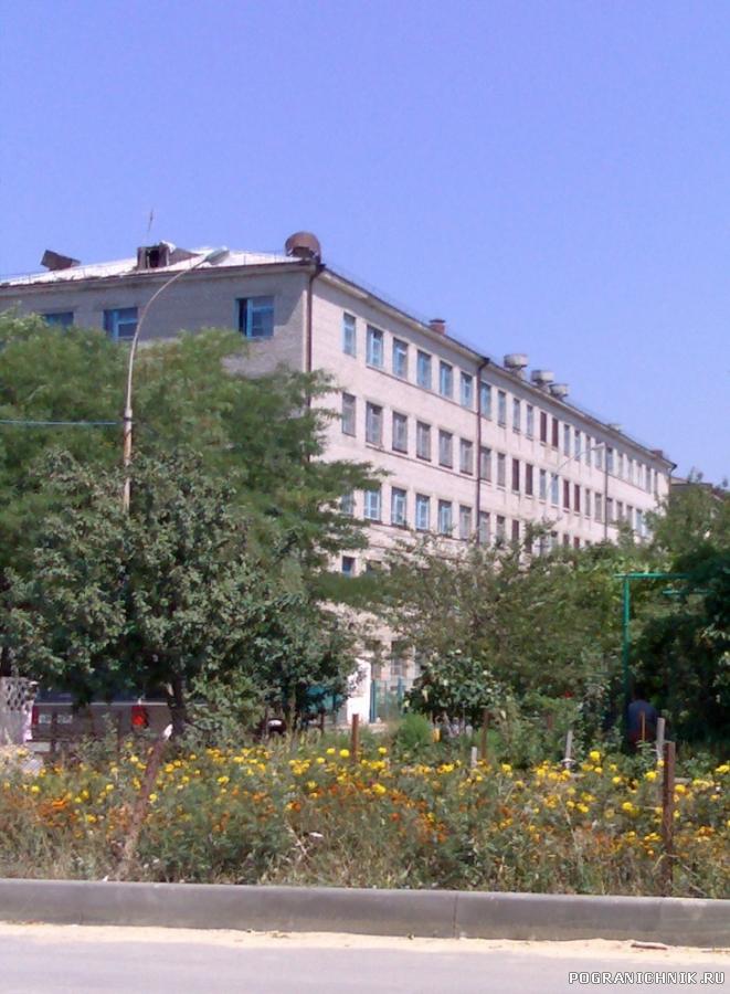 Вид на школу гидроакустиков и радиометристов (школа №6).