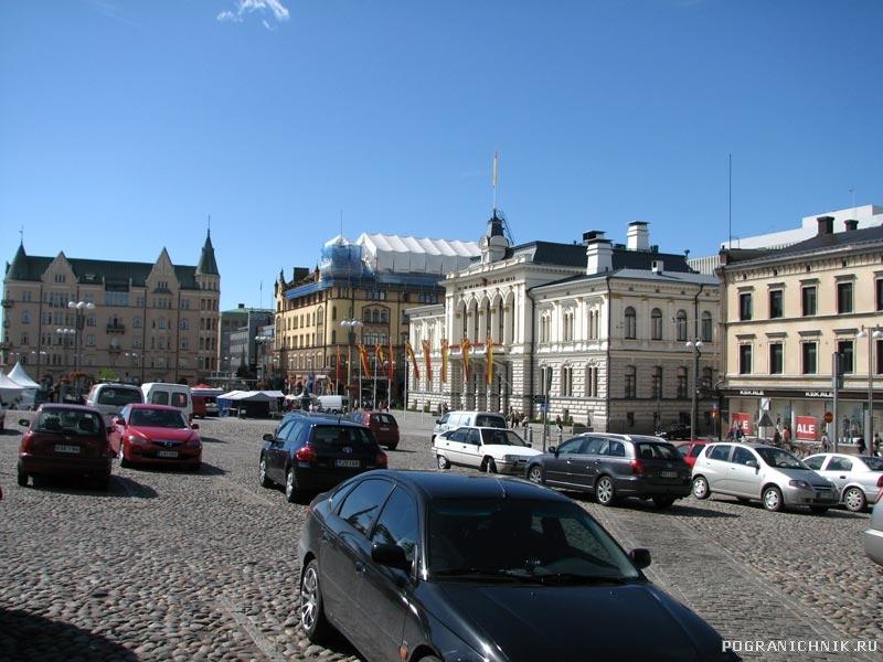 Городская площадь Тампере