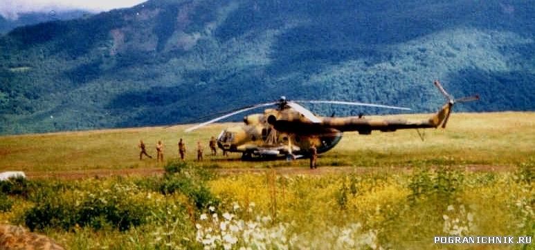 Аргунское ущелье зима-лето 2000