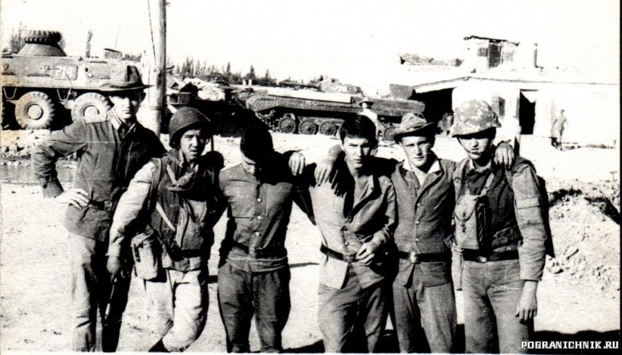 Кайсар, июнь 1983. Связь собирается в ДШГ.