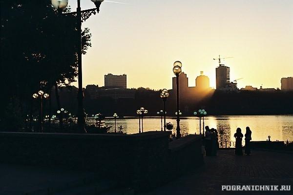 Донецк,Украина.Утро нового дня.