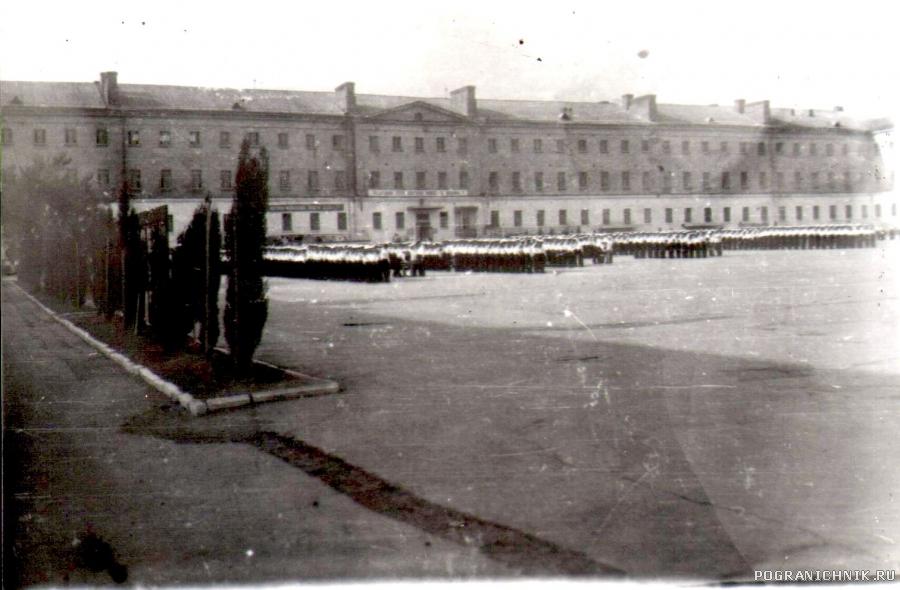 7-й учебный отряд ВМФ - Севастополь. Плац