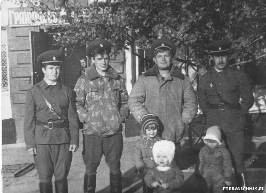 ком. состав пз №1 Красная речка 1984г