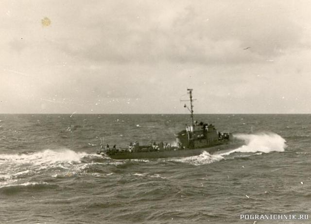 1959 фото Веренчука в дозоре БО.