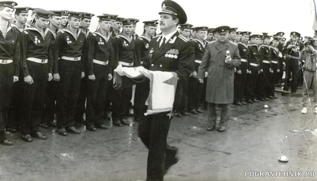 Воровский подьем флага