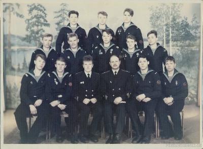 Экипаж ПСКР 353 1990года