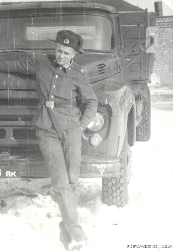 п.Сальми...март-85 (Руль-Баклан Гуля)