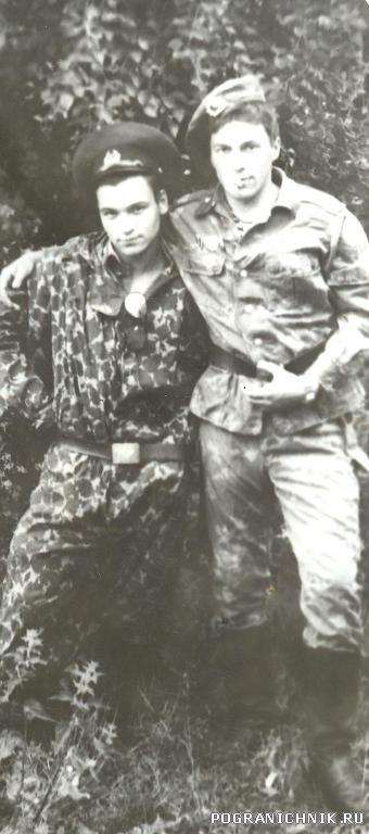 п.Сальмиярви-лето1985.ДВА СЕРГЕЯ.