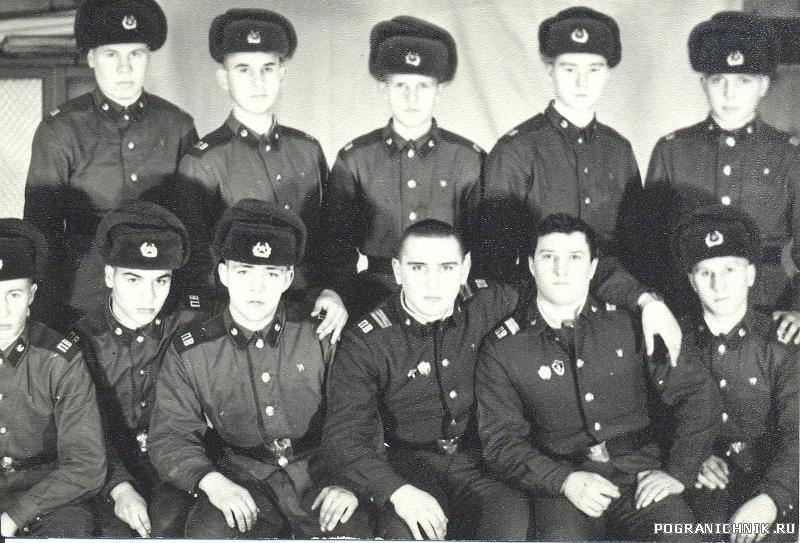 4отд.учеб.заставы.п.Сальмиярви.Ноябрь1983г.