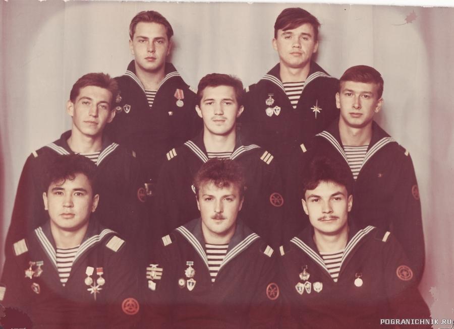 ПСКР 645 ДМБ осень 1990