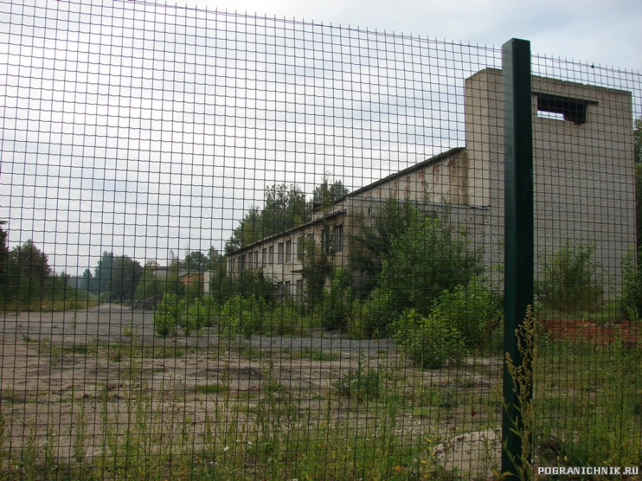 ЭМШ в Лиепае в нынешнем состоянии