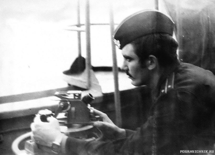 штурман  и в последствии командир Горюшин