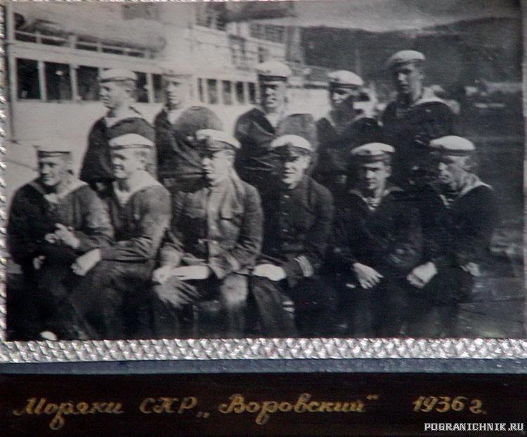моряки 1936 г