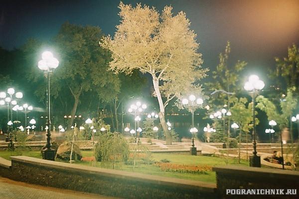 Донецк(Украина).Вечер в парке