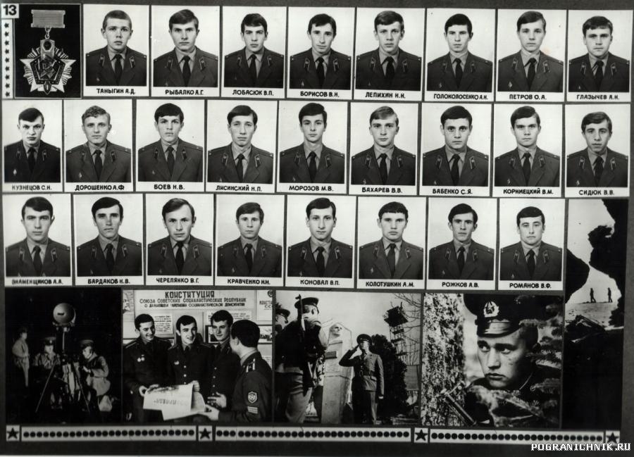 Выпуск 1979 ВП ВПКУ КГБ СССР им. К.Е.Ворошилова
