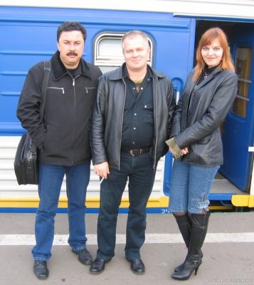 Проводы на Казанском вокзале