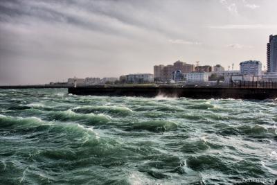 Неспокойное море Новороссийска
