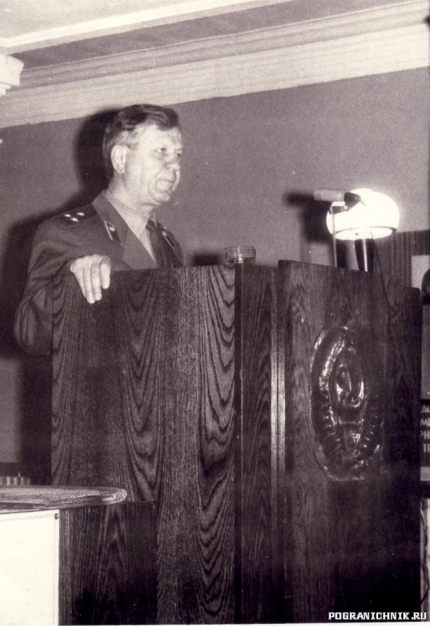 Начальник политотдела полковник Фиников.