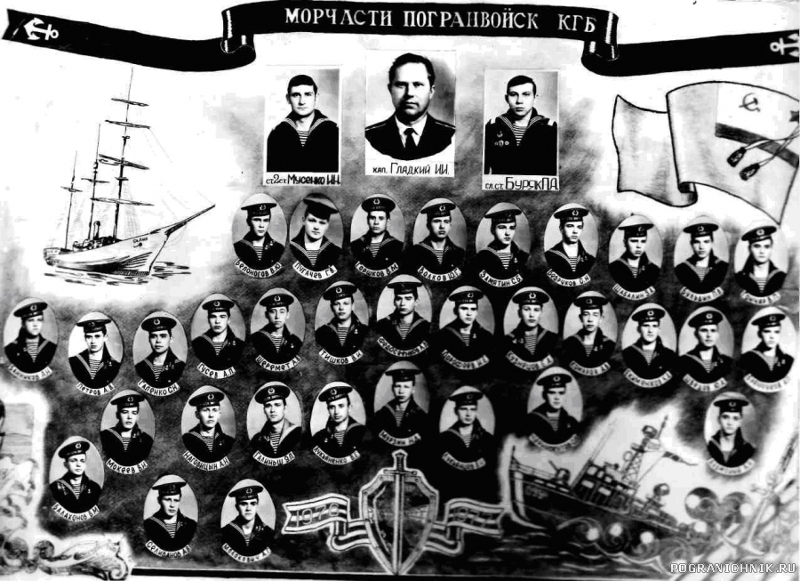Анапа 76-77  9 - я рота радистов