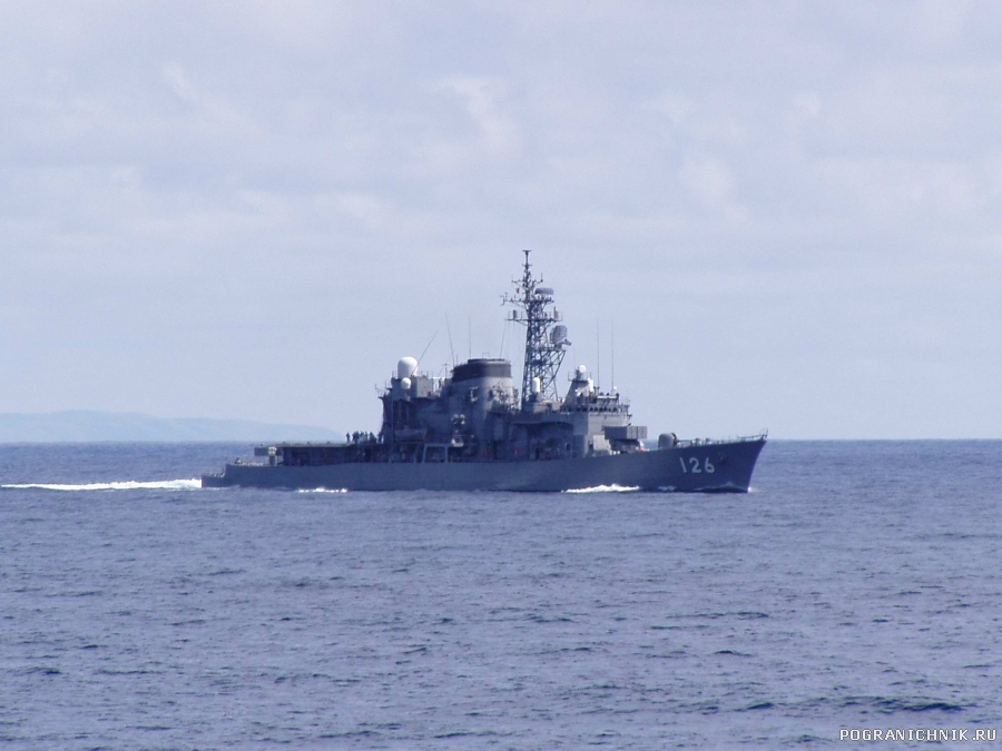Японский фрегат