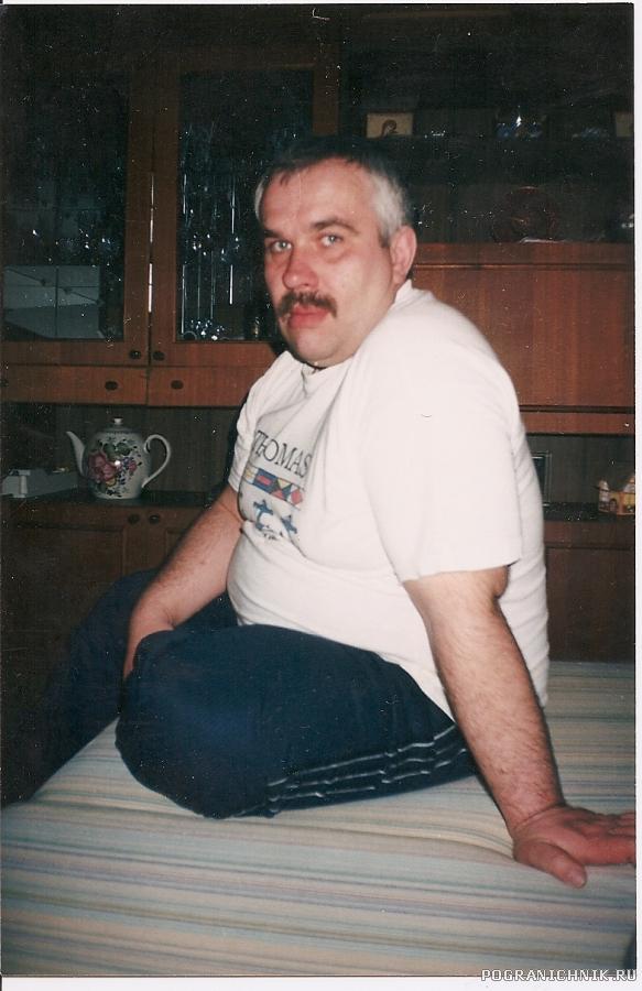 Комод торпедёров Сергей Полулященко (1982-1984) фото 2002 г.