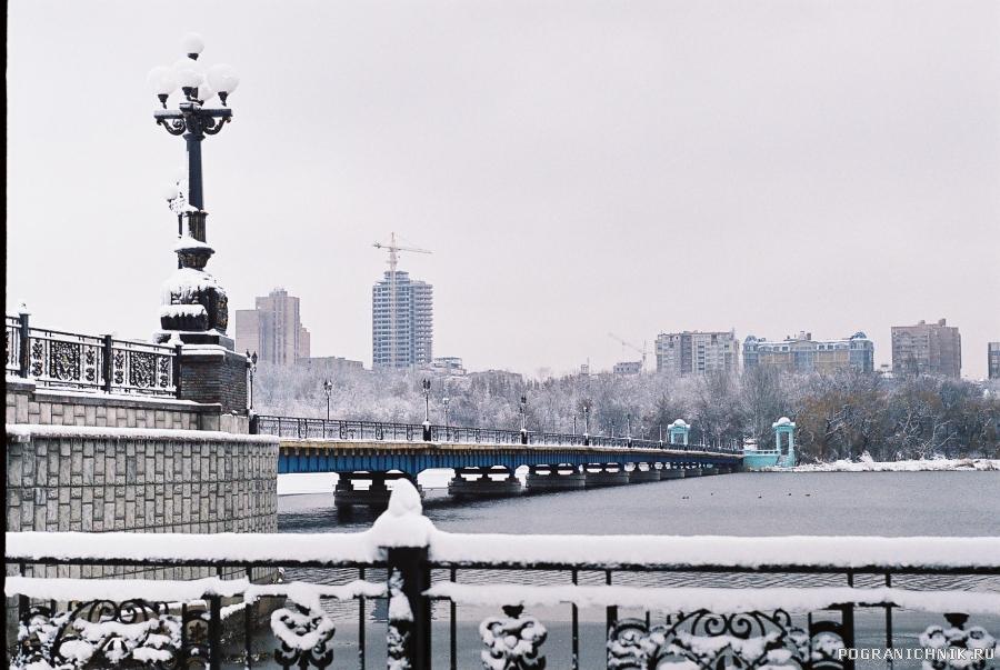 Донецк(Украина)Зима