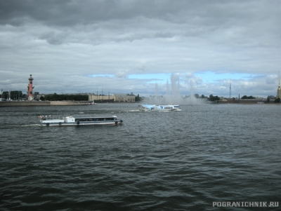 Нева. Ленинград.