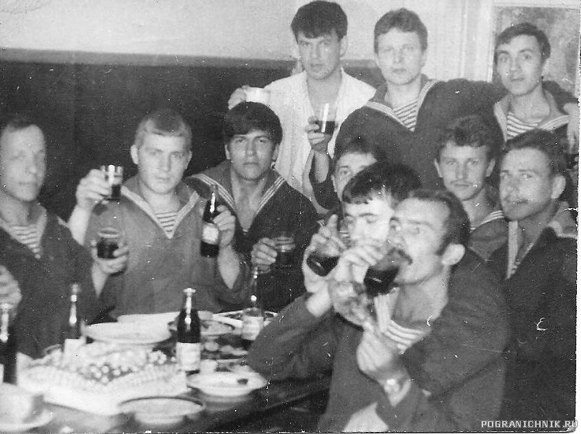 Рота обеспечения 1981г