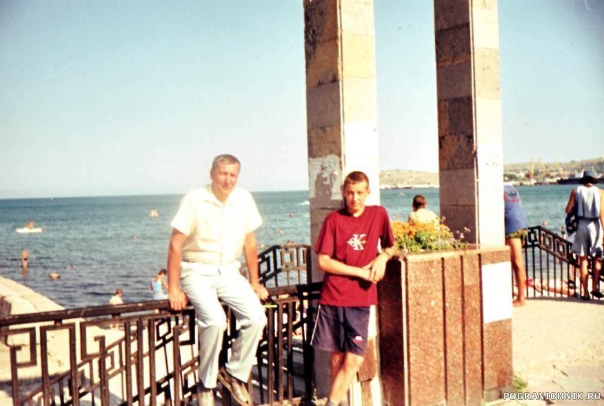 Набережная Феодосии 2000