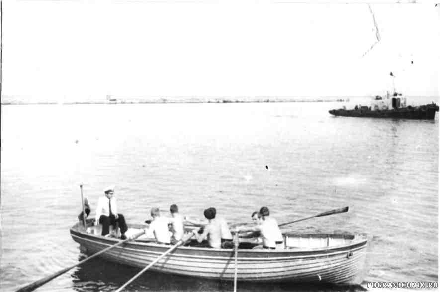 День ВМФ 79, гонки на ялах