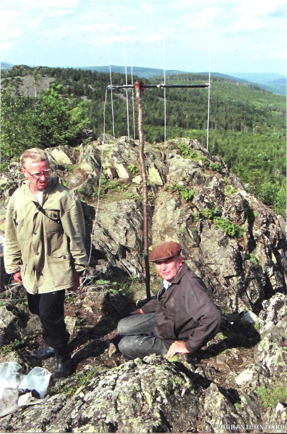 Проверка радиосвязи со Старика камня, Н-Тагил