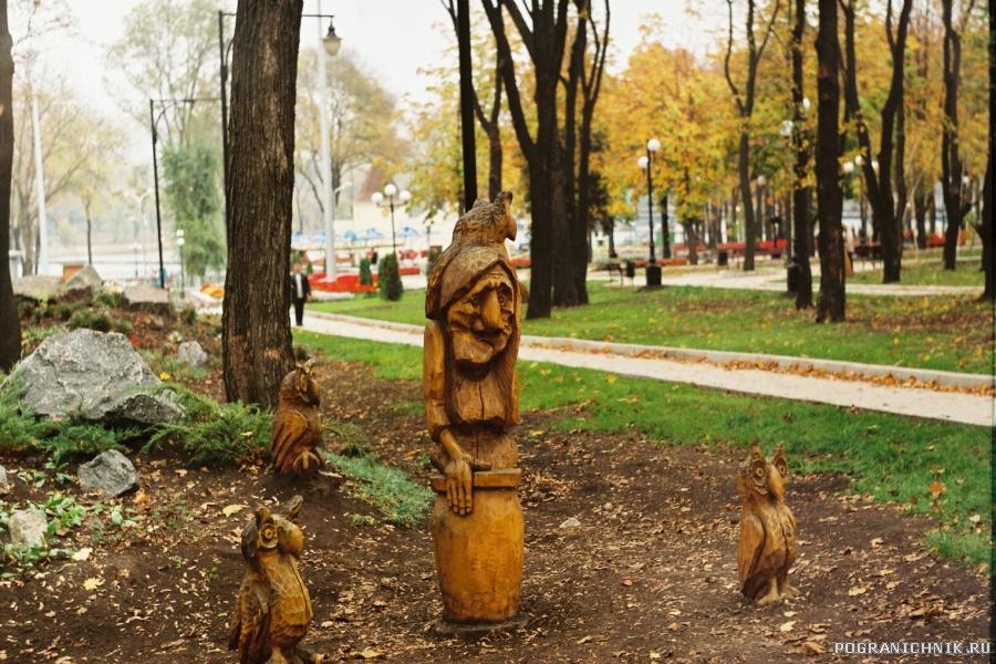 Донецк(украина)Сказки парка