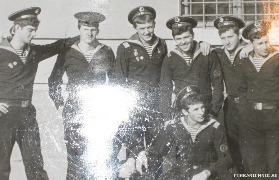 команда 3 роты 80-83 г.