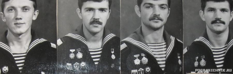 Старшины 3 роты (ДМБ 1983 г.)