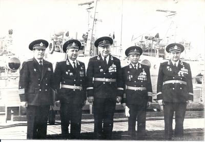 командование части, начало 80-х