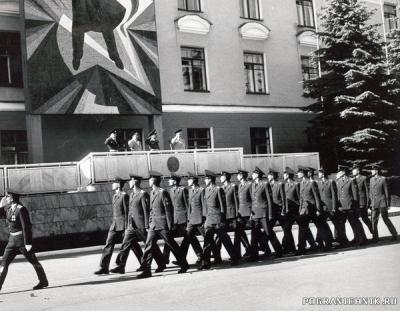 ВПКУ переименовано в ВИ КНБ РК... Прохождение торжественным