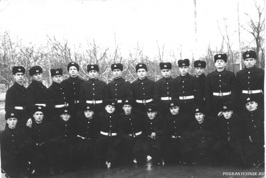Анапа УЦ. 17 января 1993 г. Присяга. 4 школа 41 рота 4 взвод
