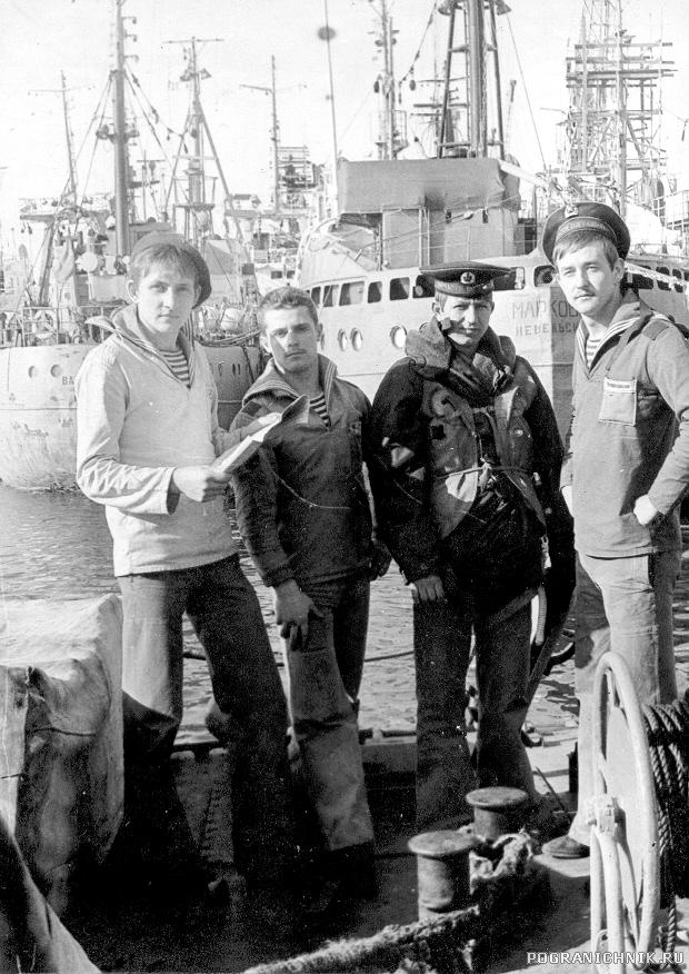 На юте.ПСКР684.1981г