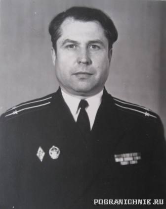 """Командир """"Рубина"""" Лобанов Е.Е."""