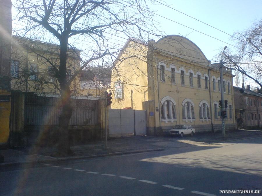 Здание штаба бригады