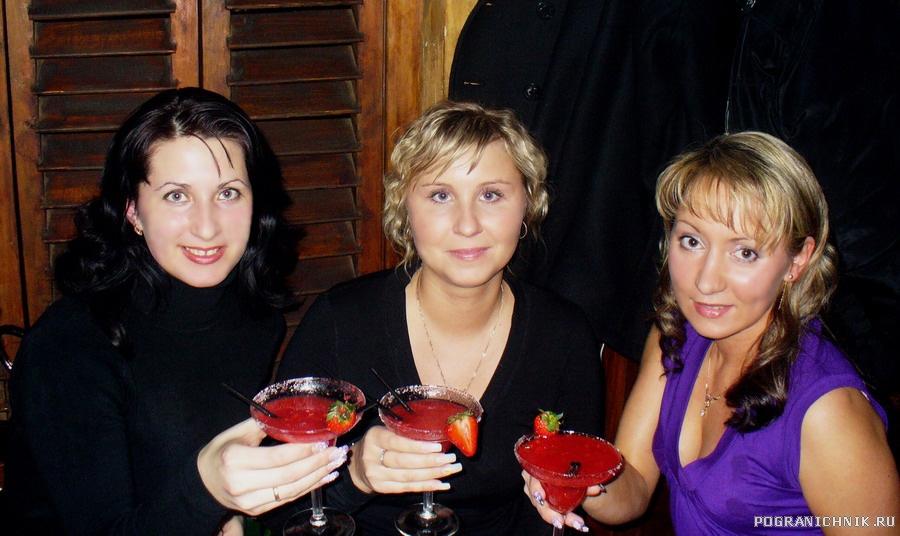 Девушкам по клубничной Маргарите