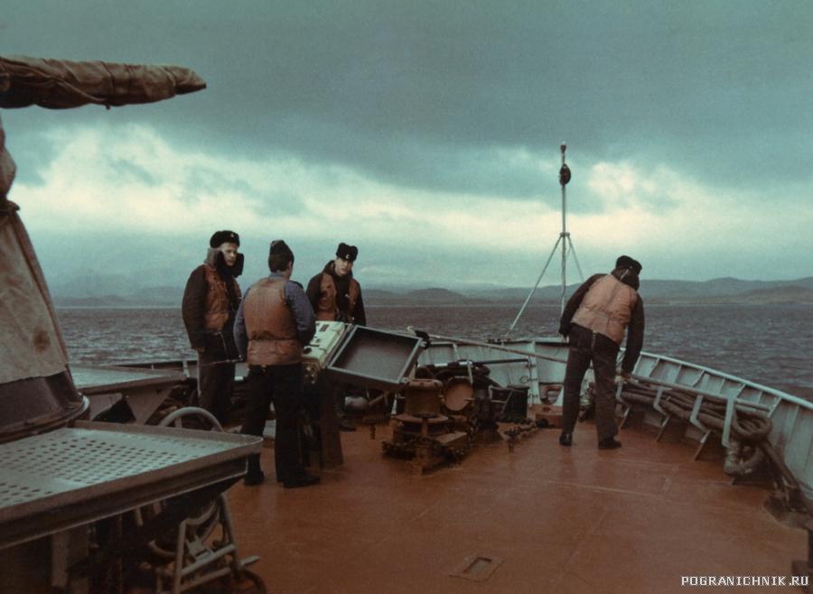 Баковая группа 635го 1986год