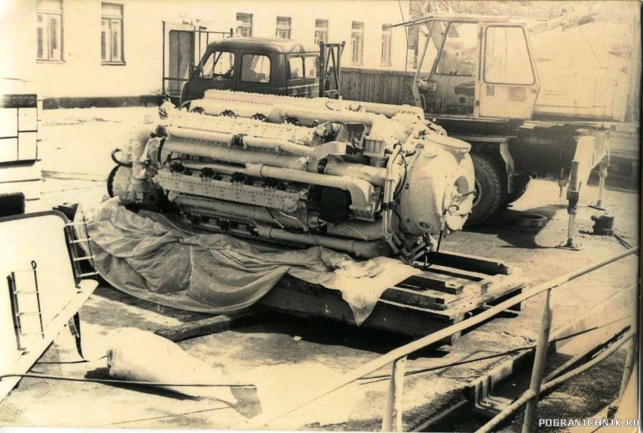 главные машины  м 504б  205 проекта