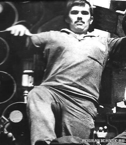 Командир торпедного отделения Сергей Полулященко. 1982-1984