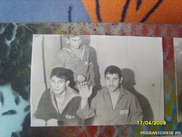 """На камбузе """"Михаил Коновалов"""" Новый 1993 год"""